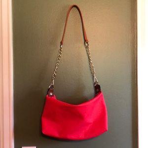 Black rivet purse